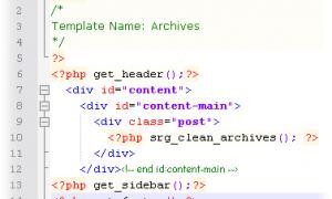 列出部落格裡的所有文章標題 – Clean Archives